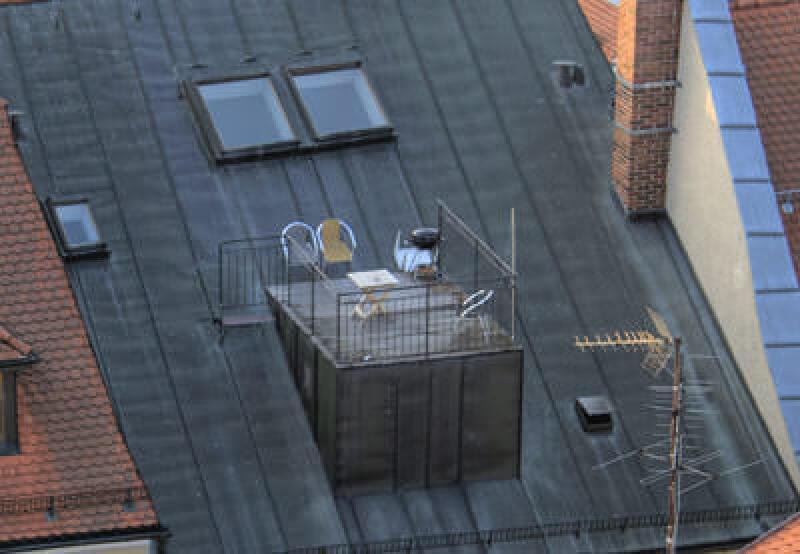 Dachterrasse, Stadthaus, Stadtwohnung, Gemeinschaftliches Bauen und Leben in der Stadt- Eigentum kreativ und kostengünstig gestalten