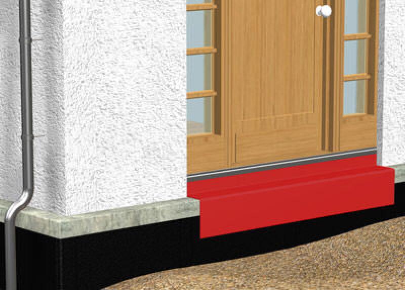 Außentür detail fußpunkt  DIN-gerechte Fußpunkt-Lösung für Fenster und Außentüren ...