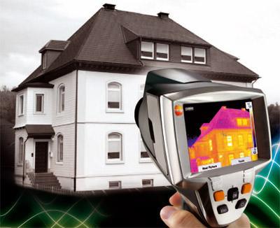 Neue portable Wärmebildkamera für die Thermographie