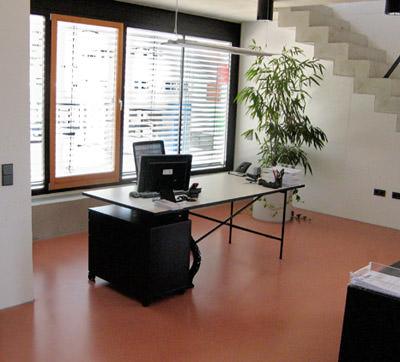 b blinger unternehmer mag 39 s bunt bei fassade und estrich farbiger estrich. Black Bedroom Furniture Sets. Home Design Ideas