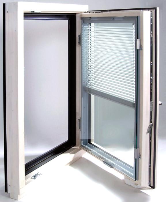 verbundfenster mit vorsatzscheibe und innenliegender jalousette geklebtes holz aluminium. Black Bedroom Furniture Sets. Home Design Ideas