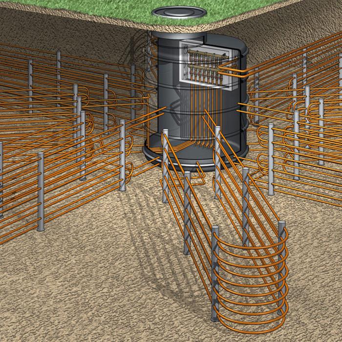 roths solargeo energiesystem nutzt solare und geothermische energie. Black Bedroom Furniture Sets. Home Design Ideas