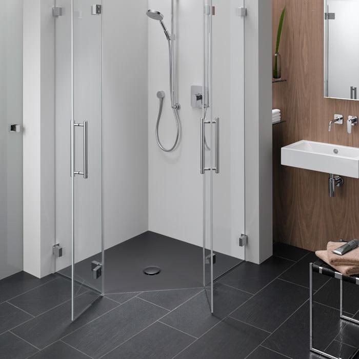 duschfl che bettefloor von xs bis xxl incl f nfeckdusche und viertelkreis dusche. Black Bedroom Furniture Sets. Home Design Ideas