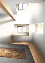 Bauernhaus in Viechtach im Bayerischen Wald (Studio für Architektur, Peter Haimerl, Jutta Görlich, München)
