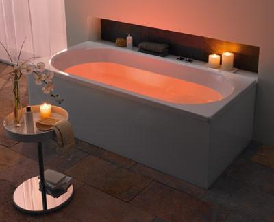es werde licht  in der badewanne, Hause ideen