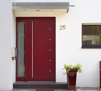 Swarovski Kristalle bringen Haustüren zum Funkeln | Haustürfüllung