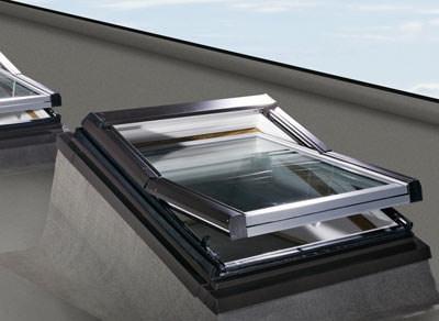 neuer flachdach einbaurahmen f r roto dachfenster. Black Bedroom Furniture Sets. Home Design Ideas