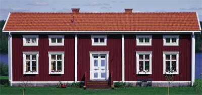skandinavische tradition f r heimische fassaden schwedenrot f r holzfassaden mit holzschutz. Black Bedroom Furniture Sets. Home Design Ideas