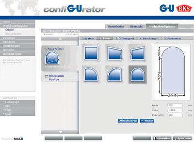 config urator online ermittlung und bestellung von. Black Bedroom Furniture Sets. Home Design Ideas