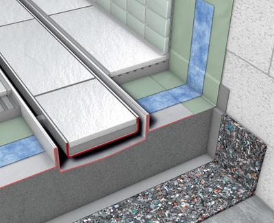 schallschutz f r bodenebene duschen kostenloses muster abrufbar schallschutzmatte zur. Black Bedroom Furniture Sets. Home Design Ideas