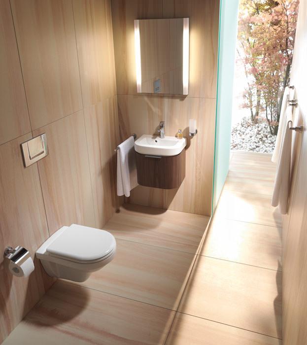 Happy D. für's kleine Bad  Handwaschbecken fürs Gäste-Bad