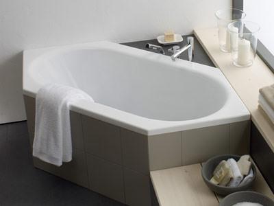 Laufen-wannen Für Individuelle Badezimmer | Eckbadewannen ... Badezimmer Wanne