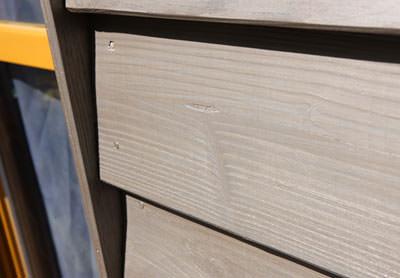 holzfassade edel ergraut vergraute fassaden aus holz. Black Bedroom Furniture Sets. Home Design Ideas