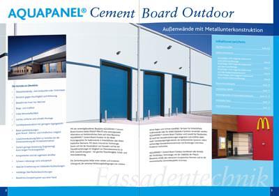 Au Enw Nde Mit Metallunterkonstruktion Auf 16 Seiten Aquapanel Fassadenverkleidung