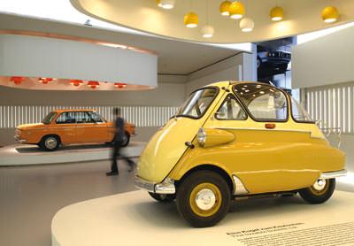 BMW Museum, Isetta, BMW2002