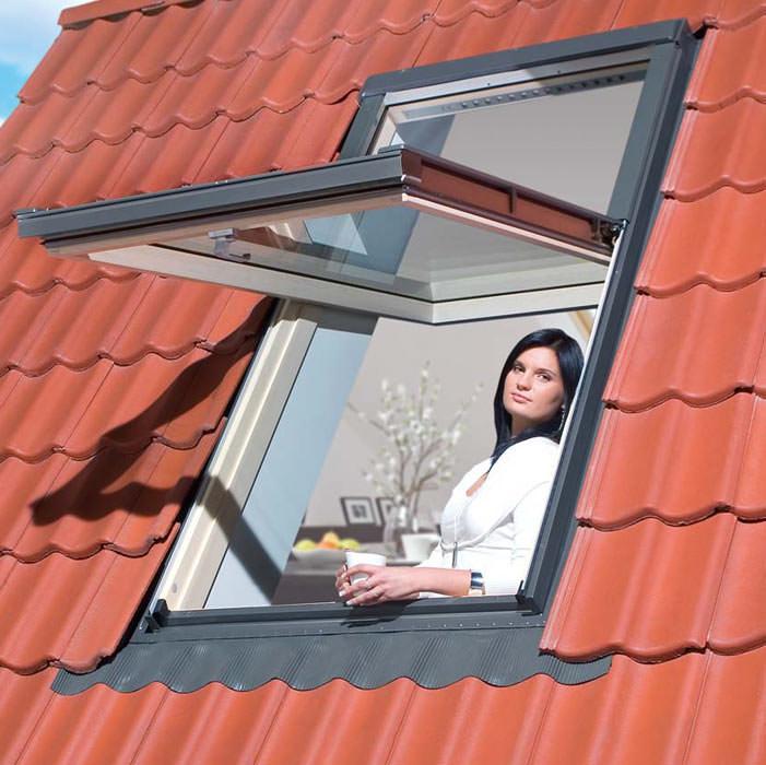 dachfenster feststehend affordable verspannte comfort mit blenden mit zwei bediengriff oder. Black Bedroom Furniture Sets. Home Design Ideas