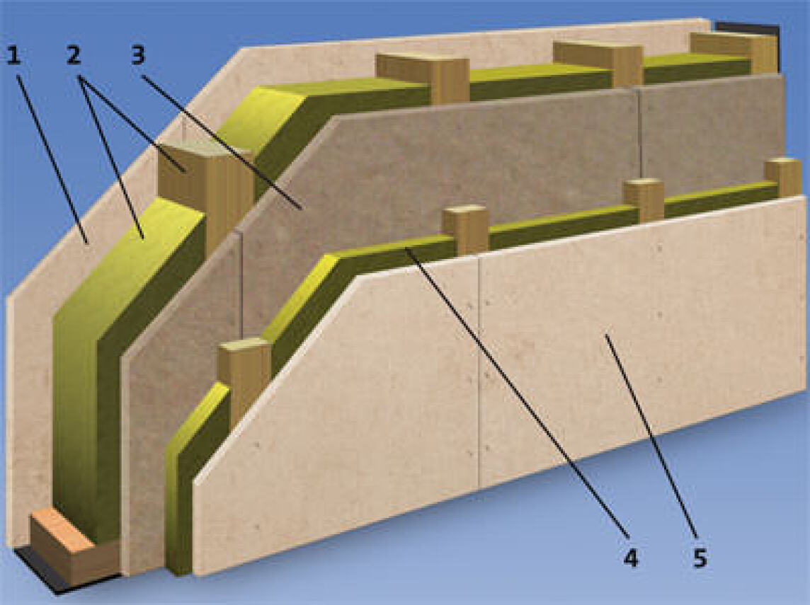 Gipsfaserplatten f r holzrahmenbau mit eingebauter dampfbremse for Holzrahmenbau details