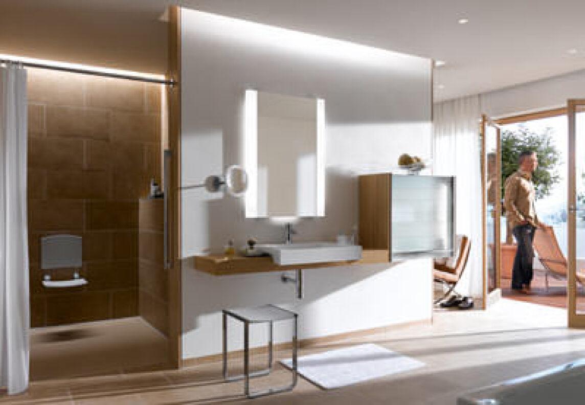Keuco projekt werkstatt raum stadt hotel for Kleine designhotels
