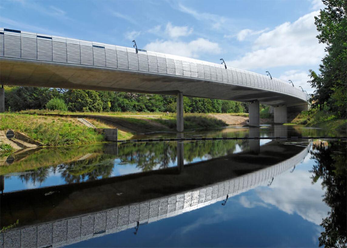 Lautrupsbachtalbrücke, AX5 Architekten BDA, Ingenieurteam Trebes