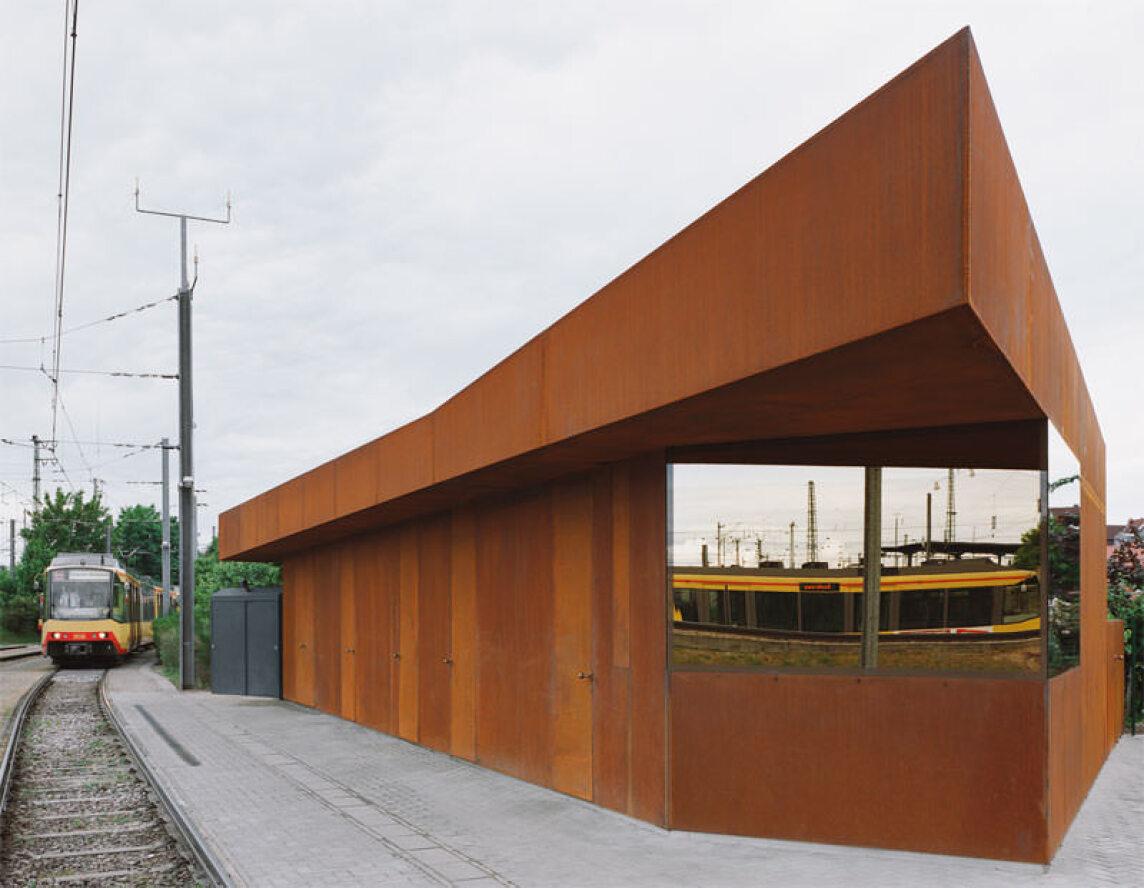 Revisionsgebäude Abstellanlage Albtalbahnhof, Kränzle + Fischer-Wasels Architekten BDA, Janssen + Stöcklin