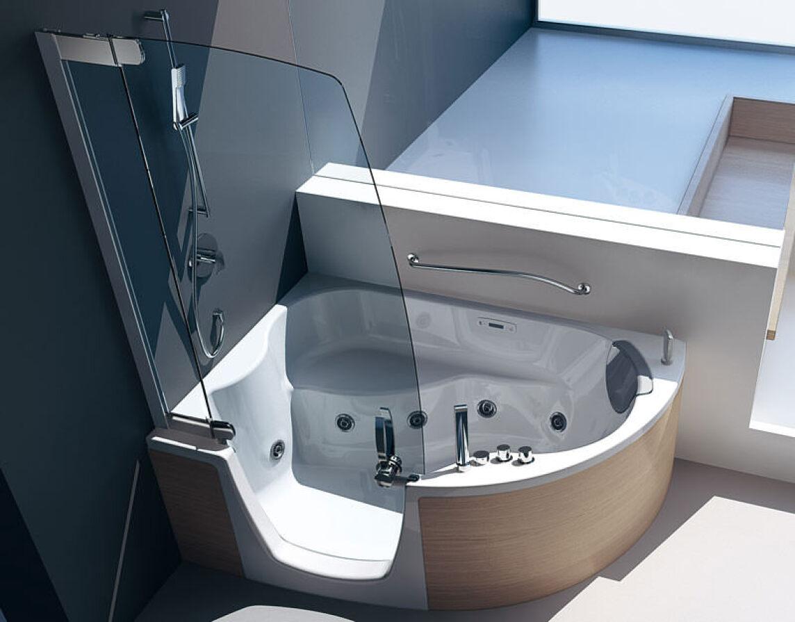 neue kombiwanne f r alle lebensphasen barrierefreie. Black Bedroom Furniture Sets. Home Design Ideas