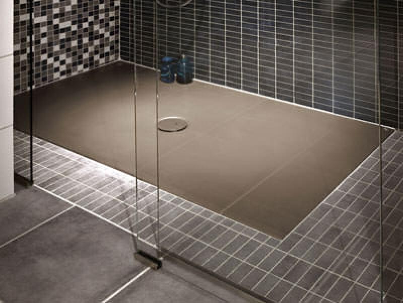 Duschfläche