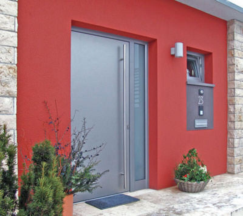 Haustür landhaus grau  Neue Holz-, Alu- und Kunststoff-Haustüren von Gugelfuss