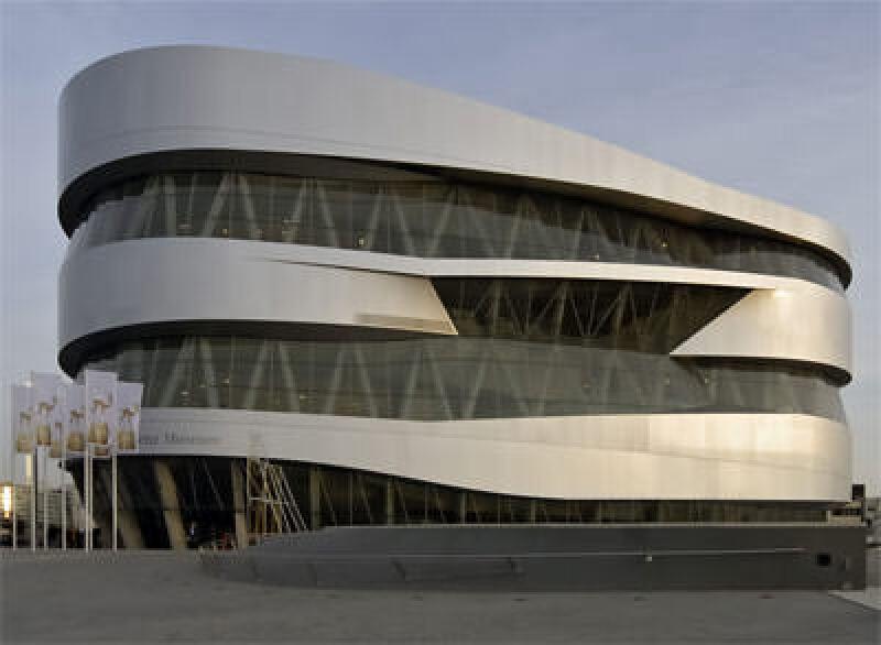 Mercedes-Benz Museum (Ben van Berkel/ UNStudio)