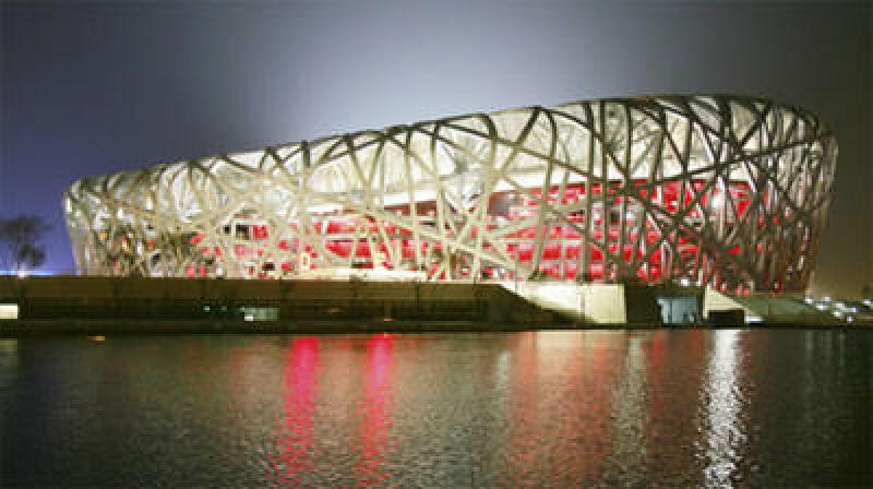 Vogelnest - Olympia-Stadion der Olympischen Spiele in Peking