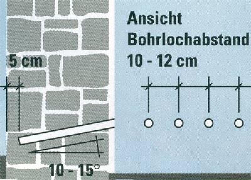 Innovativ Wie feuchte Wände saniert werden können | Silicon-Mikroemulsion  RF72