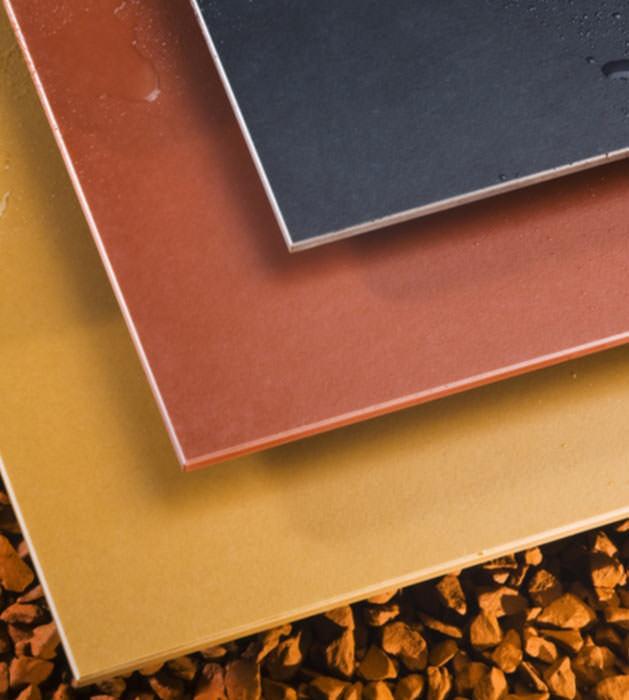 fundermax mit neuen dekoren und einer balkonbodenplatte hochdrucklaminat dekorschichtplatten. Black Bedroom Furniture Sets. Home Design Ideas