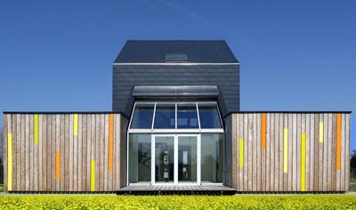eternit verleiht architektur preis. Black Bedroom Furniture Sets. Home Design Ideas