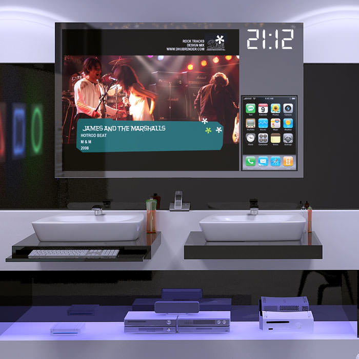 Trendumfrage bestätigt Einzug digitaler Technik ins Badezimmer ...