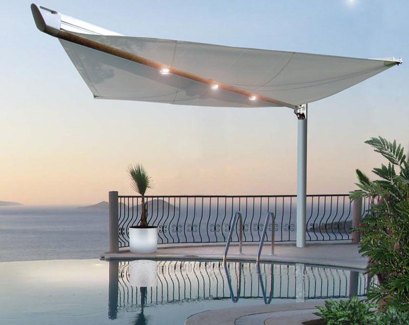 Boom Eine Markise Wie Ein Segel: markise terrasse elektrisch