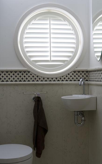 Plissee Rundfenster jasno shutters exklusive innenfensterläden aus holz