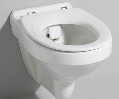 Turbo Wadis: erstes WC ohne Spülrand | Toilette aus Sanitärporzellan YB69