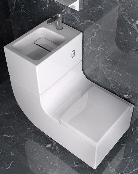 W W Kombiniert Waschbecken Und Wc Washbasin Mit Watercloset