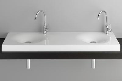 Doppelwaschtisch welle  Bette erweitert sein Kernsortiment um Waschtische aus Stahl-Email ...