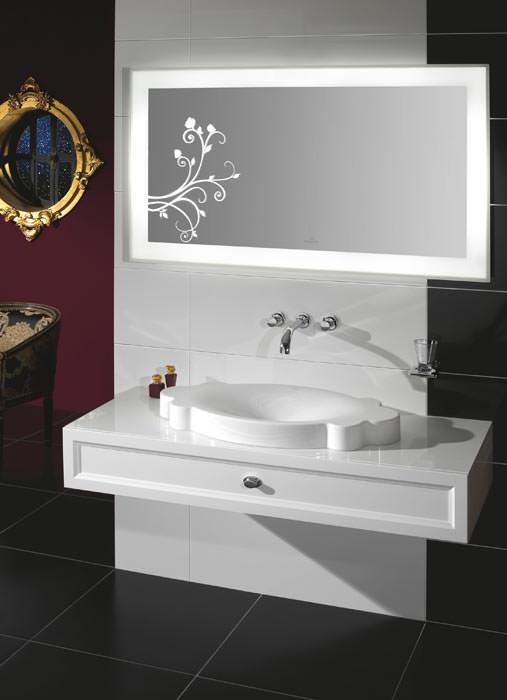 la belle die romantische interpretation des baddesign feminines bad von villeroy boch. Black Bedroom Furniture Sets. Home Design Ideas