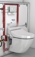 toto sp lt mit tece dusch wc dusch toilette. Black Bedroom Furniture Sets. Home Design Ideas