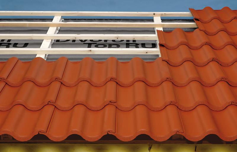 7 grad dachneigung mit harzer pfanne braas 7grad dach. Black Bedroom Furniture Sets. Home Design Ideas