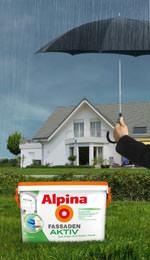 aktive alpina farbe f r die fassade alpina fassadenaktiv. Black Bedroom Furniture Sets. Home Design Ideas