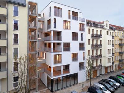 Deutscher Holzbaupreis 2009, Holzbau, Holzhäuser, mehrgeschossiges Holzhaus, siebengeschossiges Wohnhaus