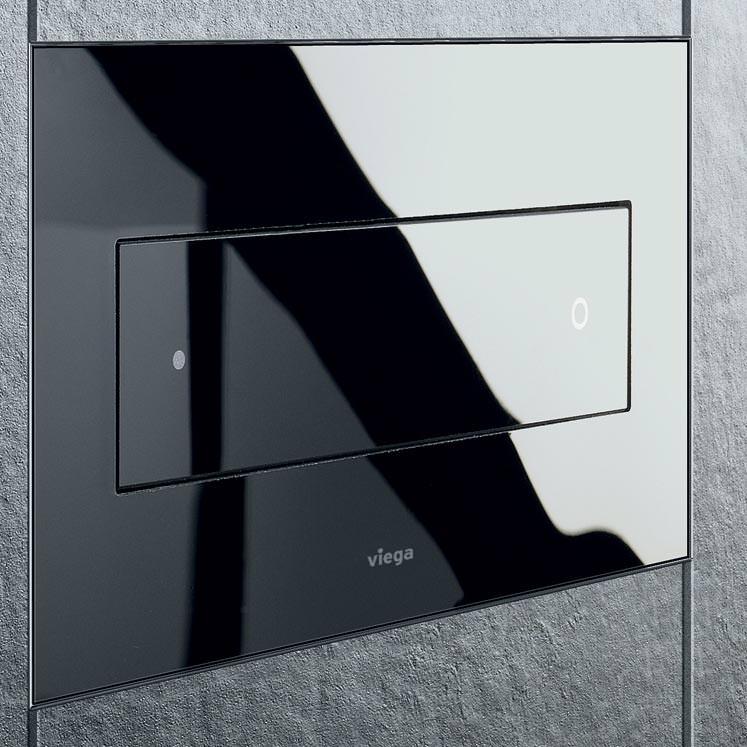 Wc Betatigungsplatte Fliesenbundig Einbauen Toilettenspulung