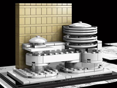 Guggenheim Museum, Frank Lloyd Wright, LEGO Architecture, LEGO Steine, Frank Lloyd Wright Foundation