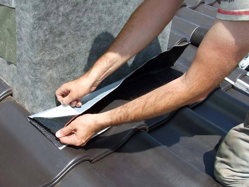 koraflex f r anschl sse an kamine und w nde anform abdichtung. Black Bedroom Furniture Sets. Home Design Ideas