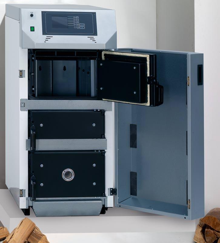 holzvergaserkessel von wolf mit lambdasonde f r 6 bis 8 stunden holzheizung mit lambdasonde. Black Bedroom Furniture Sets. Home Design Ideas