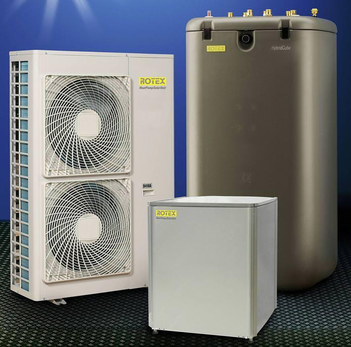 Zweistufige Luft/Wasser-Wärmepumpe für 80°C Vorlauftemperatur  Wärmepumpe ohne Heizstab