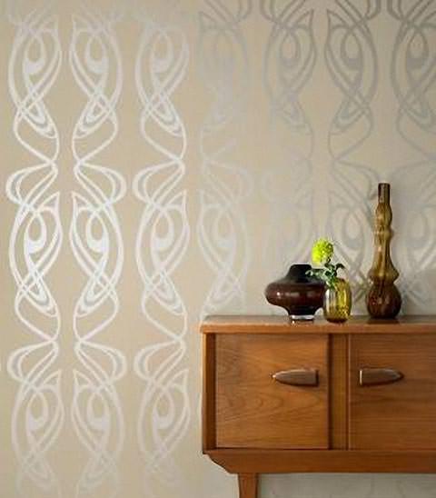 extravagante tapetenkollektion einer modedesignerin. Black Bedroom Furniture Sets. Home Design Ideas