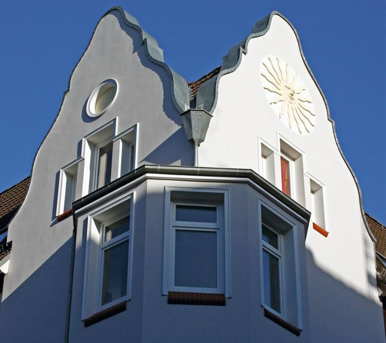 Fassadensanierung im Einklang mit hanseatischer Baukunst